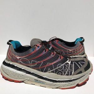 Hoka One Stinson Trail Evo Running Shoes Size 9